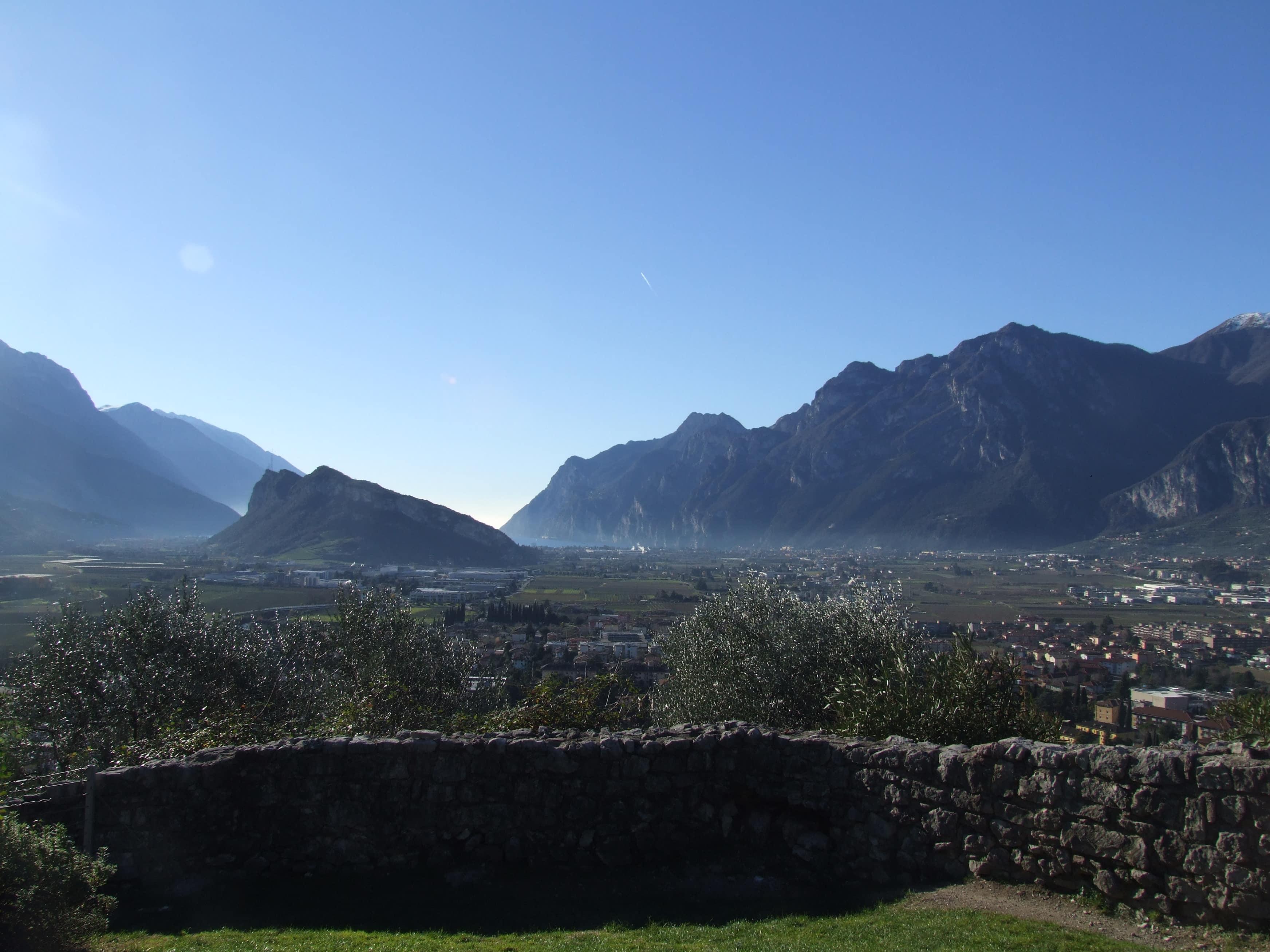 La vista dal Castello di Arco - credits: www.ptatofriendly.com