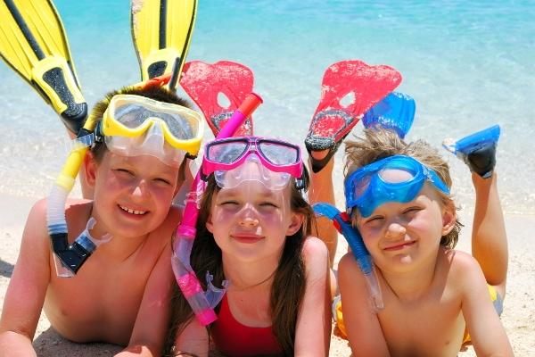 bambini vacanza mare