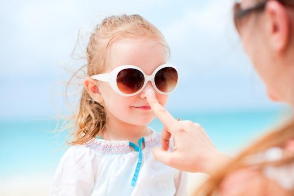 bambini protezione solare
