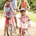 famiglia bicicletta
