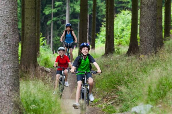 gite bicicletta famiglia