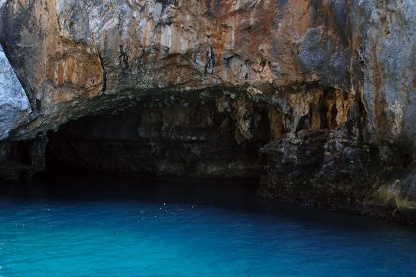 grotta dei monaci palinuro