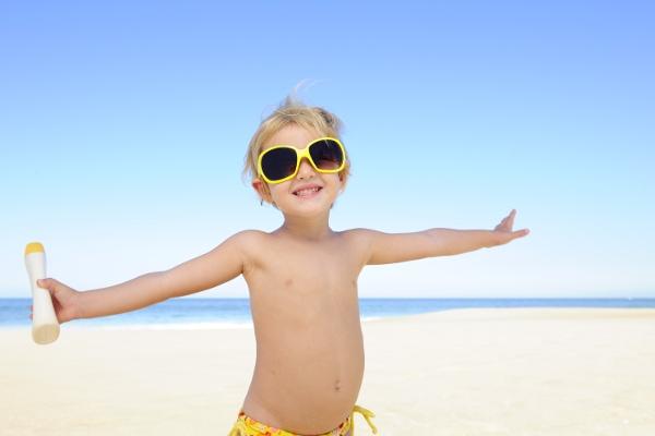 protezione solare mare