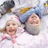 Montagna d'inverno, idee per una vacanza con i bimbi