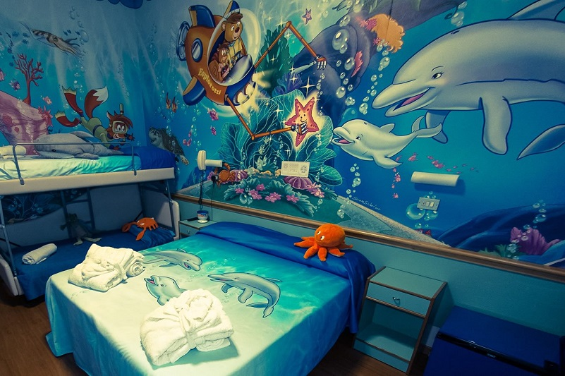 camera a tema mare