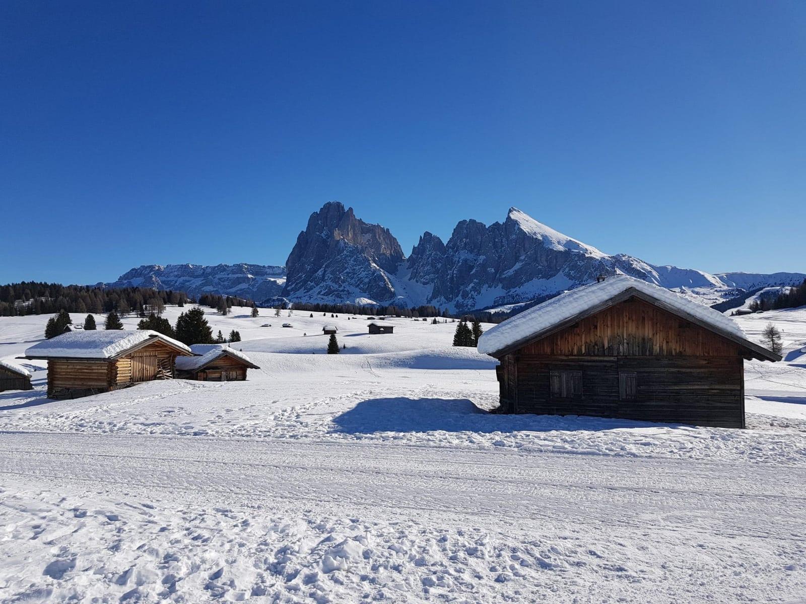 Val Gardena in Inverno