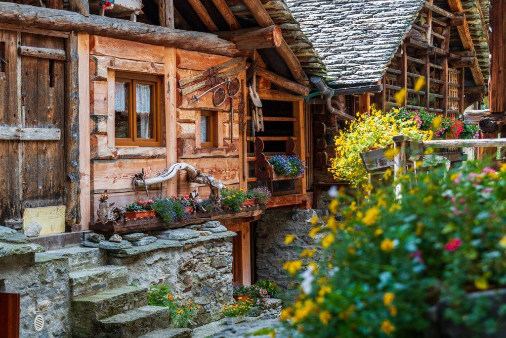 casa tipica di Alagna