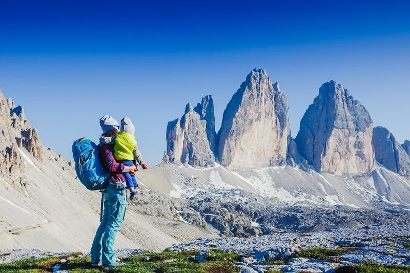 consigli pediatrici sul perché la montagna fa bene ai bambini