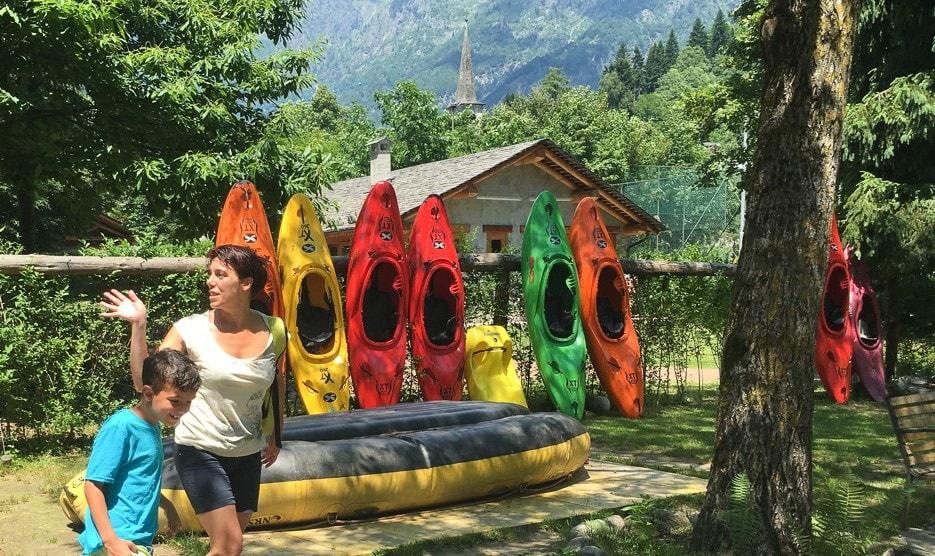 kayak in val sesia
