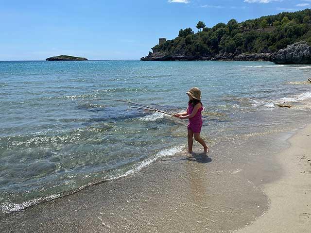 spiaggia di Marina di Camerota in Cilento