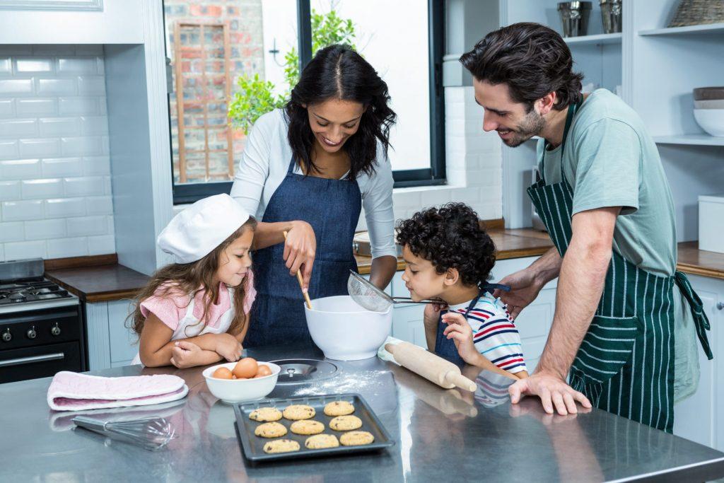 cucinare in famiglia