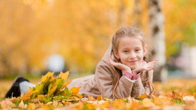 selvino con bambini in autunno