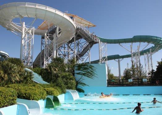 Water park in Riccione