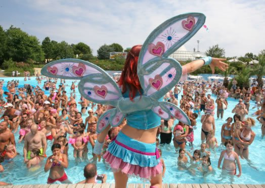 Water park in Romagna