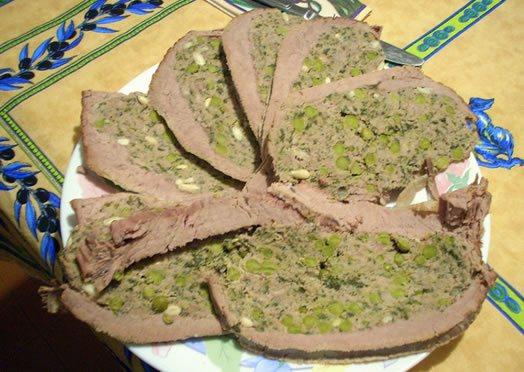 Traditionell ligurische Küche