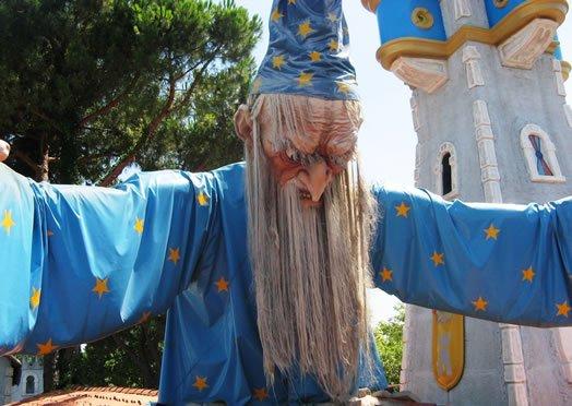 Amusement park in Romagna