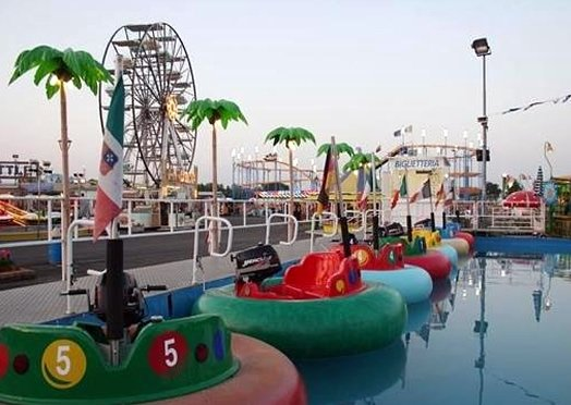 Amusement park in Jesolo