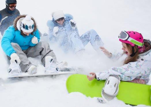 Winterpark in Südtirol