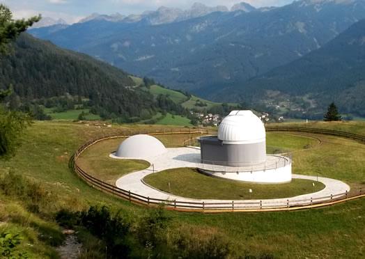 Planetarium in trentino