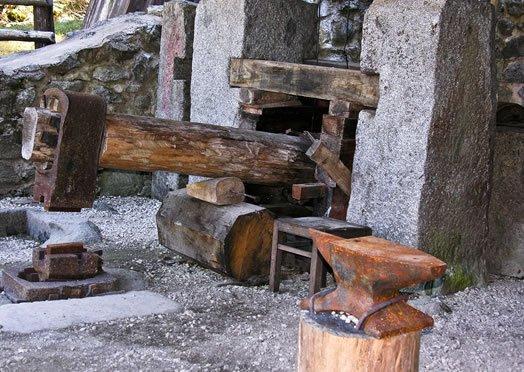 Open air museum in Trentino