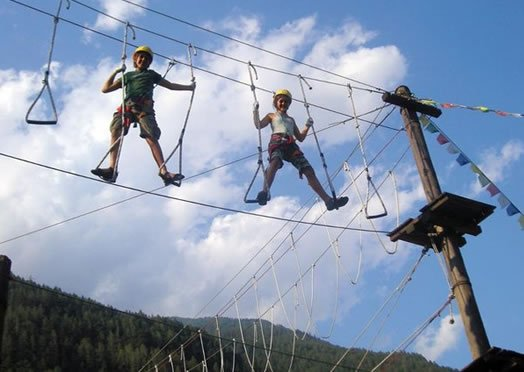 Dolomiti Action Adventure Park in Campitello di Fassa