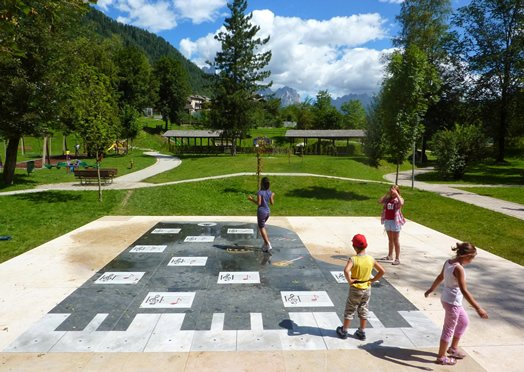 Spielpark in Südtirol